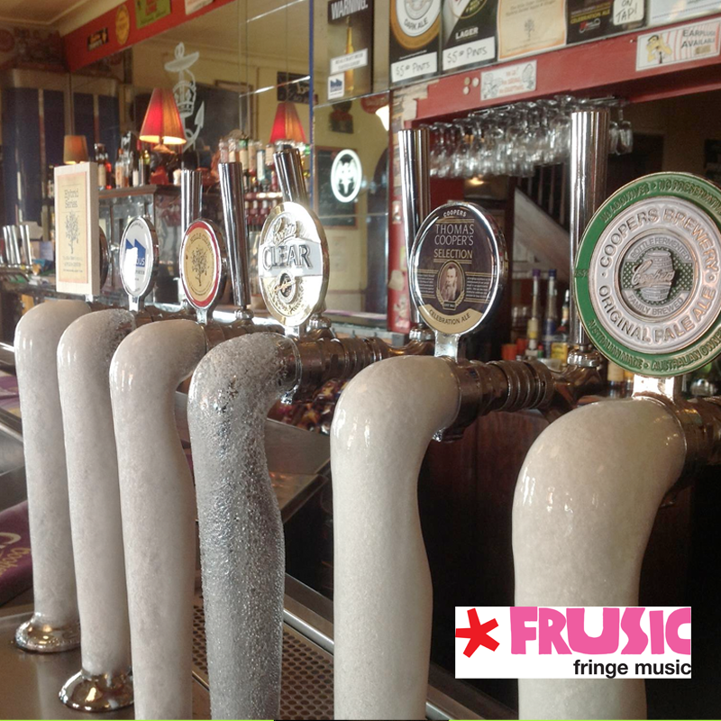 frusic feature: crown & anchor hotel