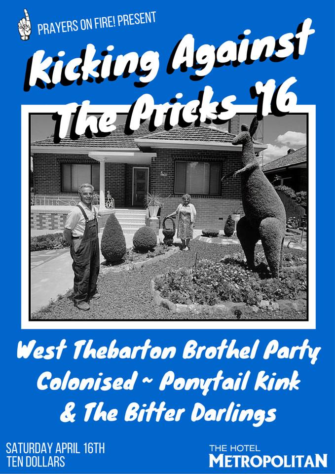 kicking against the pricks lge