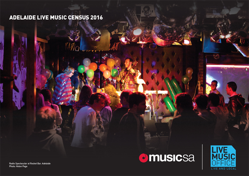 Adelaide Live Music Census 2016