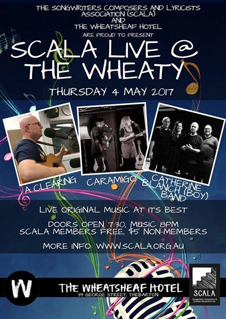 SCALA at The Wheaty May 4