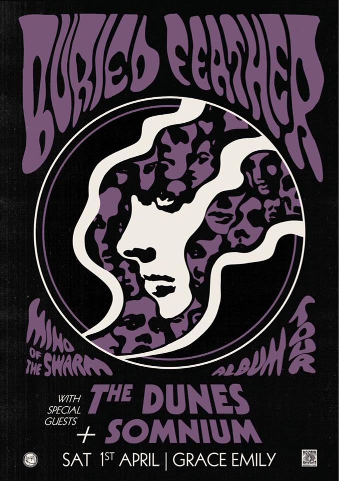 Buried Feather w/ The Dunes + Somnium