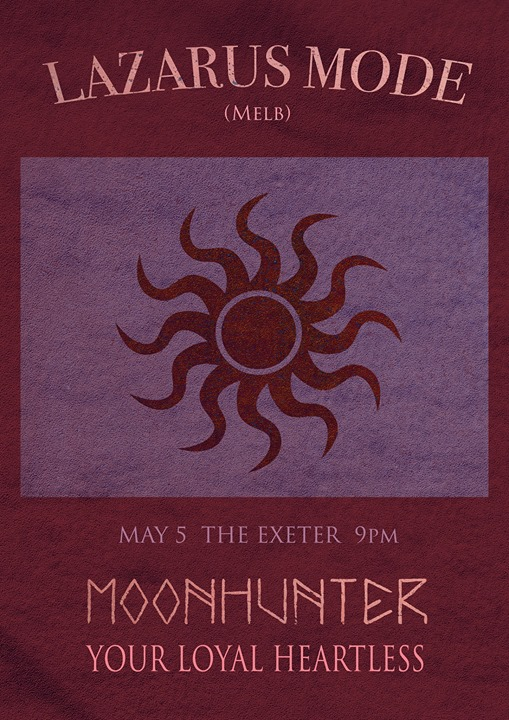 May 5 at The Exeter
