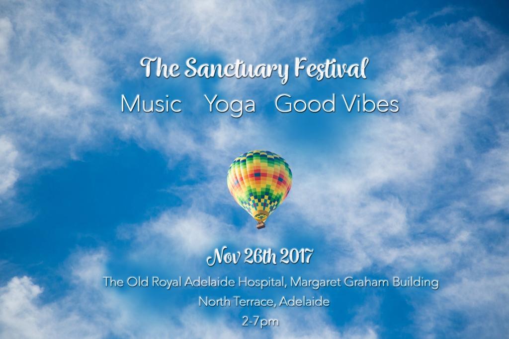 The Sanctuary Festival Program Page 1