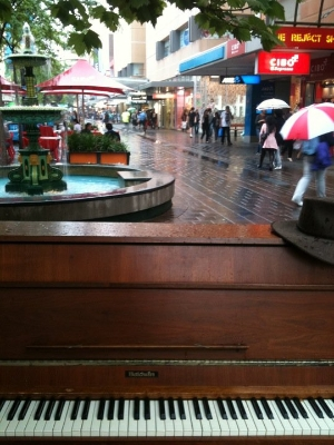 Adelaide Piano Busker