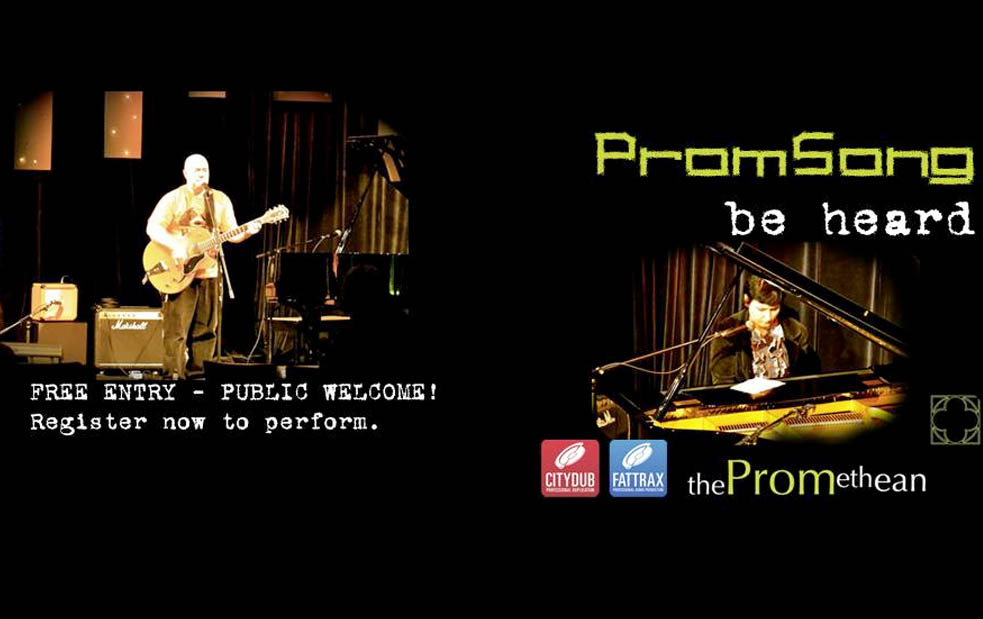 promsong songwriter night + comp