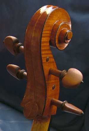 James Robinson, Luthier