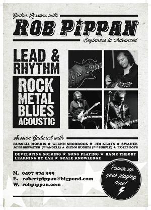 Rob Pippan Guitar Lessons