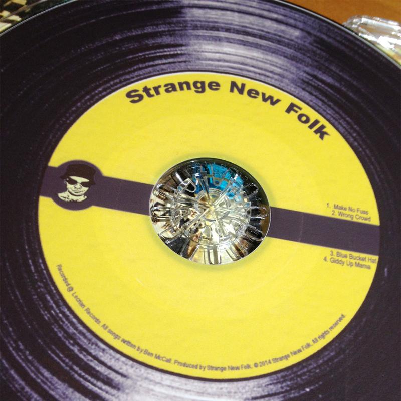 strange new folk ep