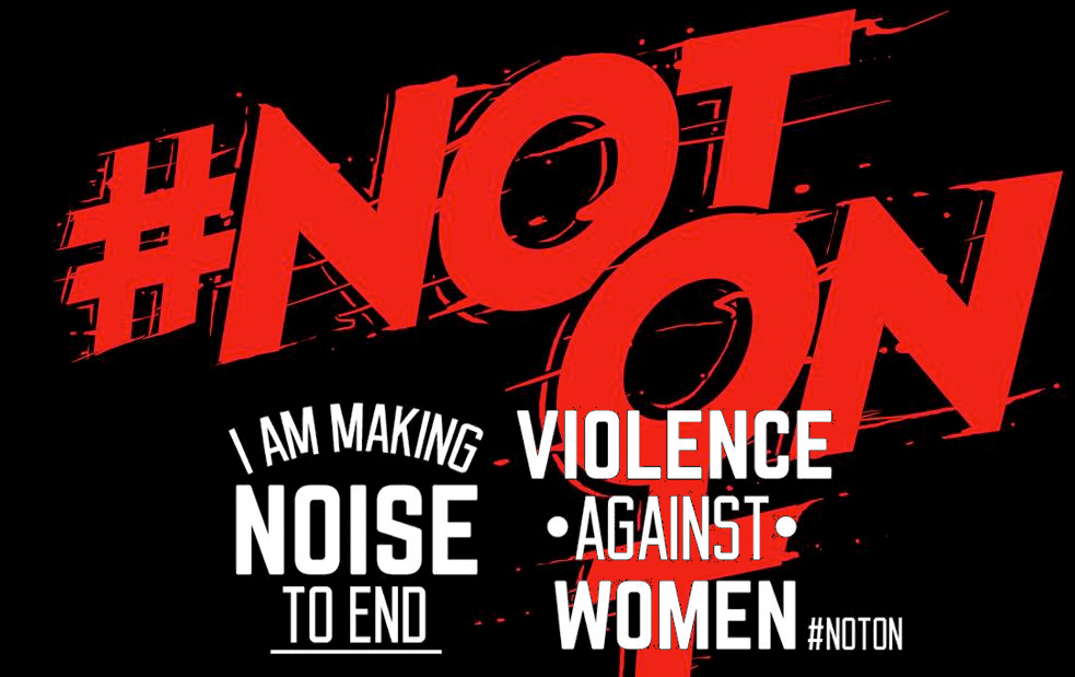 musos make noise to end violence against women
