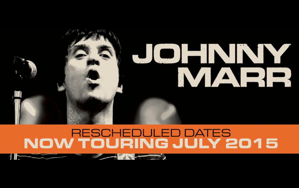 johnny marr reschedules