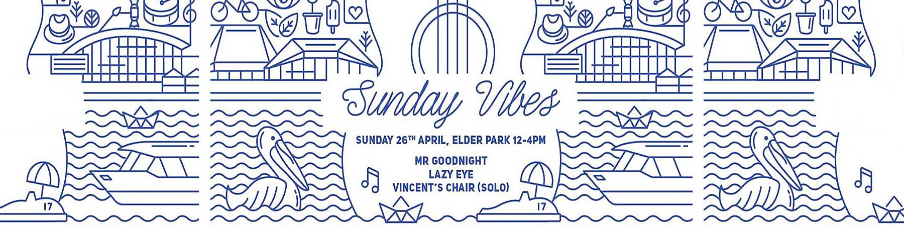 music sa and the riverbank precinct present sunday vibes