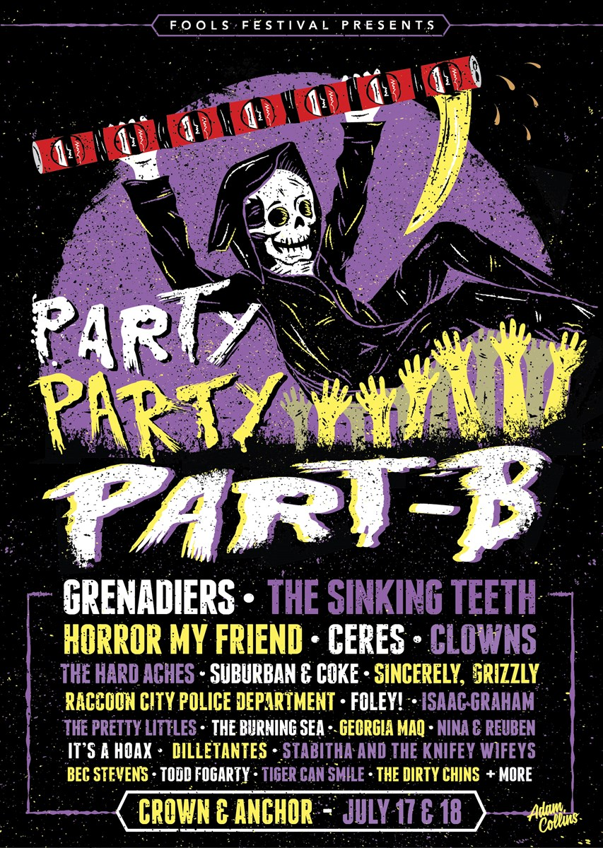 party party part-b @ the crown & anchor