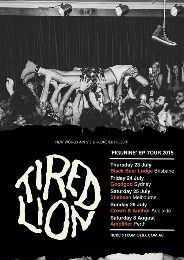 tired lion + glass skies + tomorrow rising @ the crown & anchor