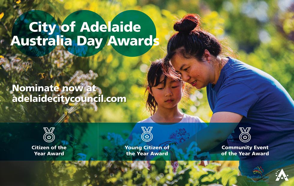 city of adelaide australia day awards