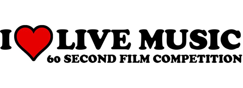 i love live music 60 second film comp opens