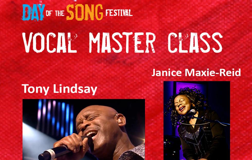 Vocal Master Class with Tony Lindsay (Santana)