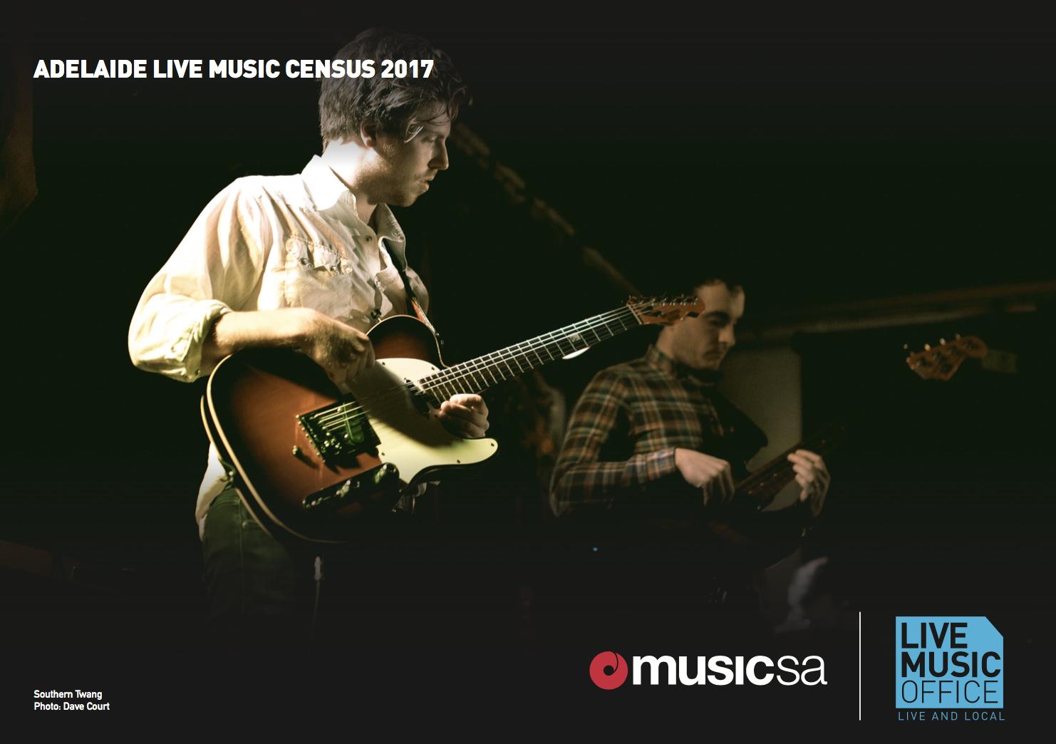 2017 Adelaide Live Music Census