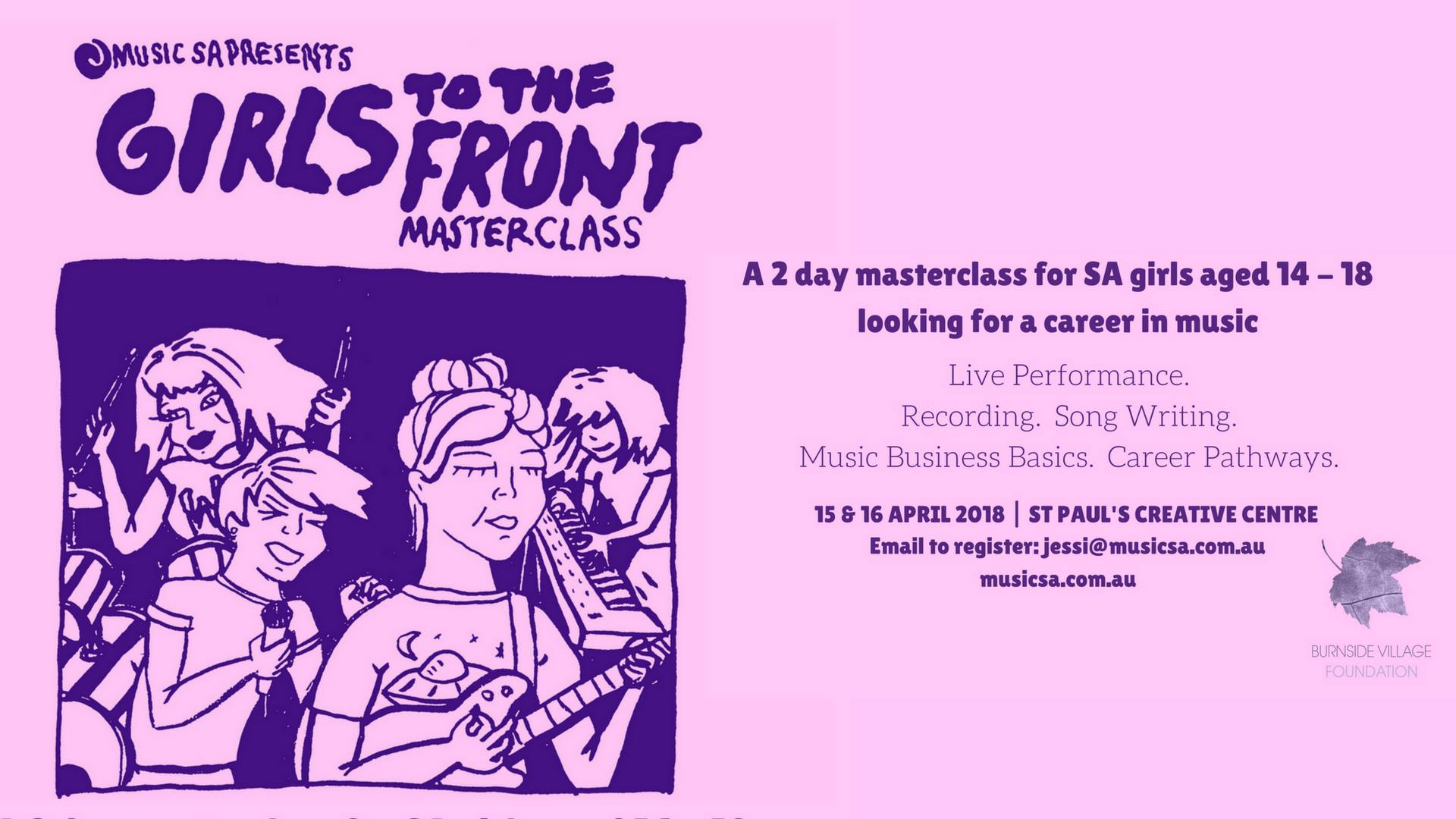 Girls To The Front Masterclass