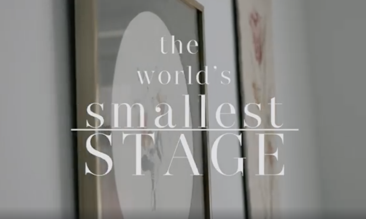 The World's Smallest Stage